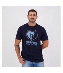 camiseta new era nba memphis grizzlies marinho