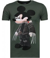 bad mouse - rhinestone t-shirt