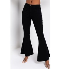 akira lace me up flare jeans