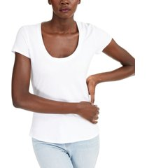 inc the basic scoop t-shirt, created for macy's