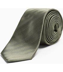 mens green sage herringbone tie