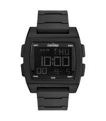 relógio masculino condor digital - cobj2649af8p preto