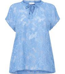 blus kcmetty blouse