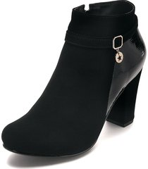 botín moda dama negro tellenzi 2009