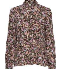 blouses woven långärmad skjorta multi/mönstrad edc by esprit
