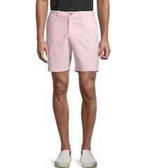 original penguin men's oxford cotton-blend shorts - pink - size 34