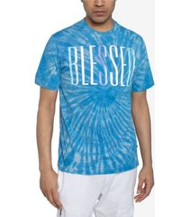 sean john men's big and tall blessed tie dyed tee