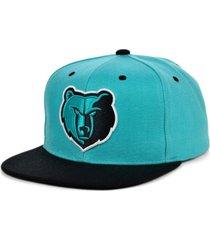 mitchell & ness memphis grizzlies minted snapback cap