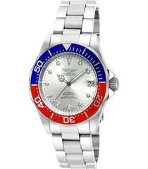 reloj invicta 17041 acero acero inoxidable
