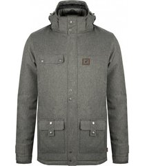 chaqueta impermeable 3m expedition gris oscuro falcone