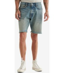 lucky brand men's athletic denim shorts