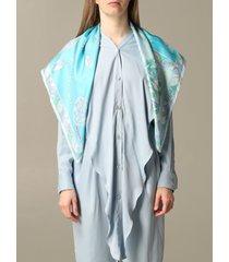 emilio pucci neck scarf emilio pucci inn printed silk scarf