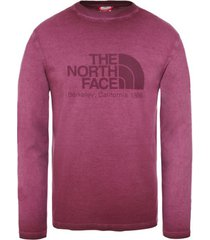 t-shirt lange mouw the north face washed berkeley tee