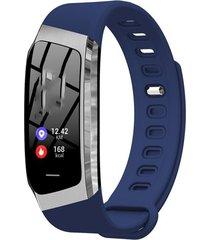 pantalla táctil en color de banda inteligente impermeable pulsera braz
