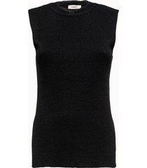 barena maglia smanicata nera