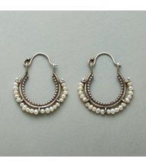 arco perla earrings