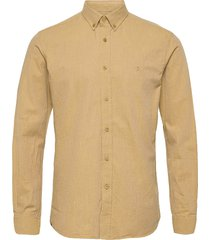 nelson button down shirt skjorta casual beige morris