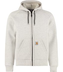 carhartt car-lux full zip hoodie
