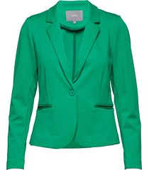 rizetta blazer - blazer kavaj grön b.young