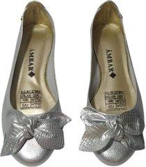 baleta caro plata ambar lem ref. b000015-04