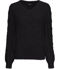maglione traforato (nero) - bodyflirt