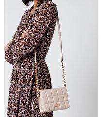 michael michael kors women's jet set charm small double pouch cross body bag - soft pink