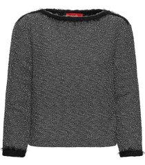 cottage stickad tröja grå max&co.