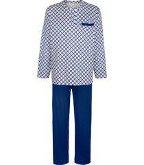 pyjamas babista kungsblå::beige