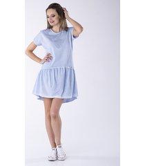 sukienka z falbaną fabbia look 607f