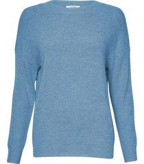 moss copenhagen femme mohair pullover s-lake blue