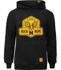 bluza z kapturem rock n rope