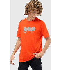 camiseta naranja gap