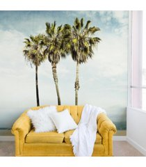 deny designs bree madden venice beach palms 8'x8' wall mural