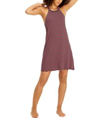 alfani ultra-soft halter nightgown, created for macy's