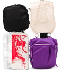 eastpak deconstructed pouch backpack - purple