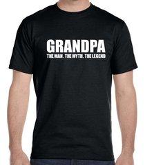 grandpa, the man, the myth, the legend men's t-shirt