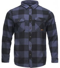 camisa lumberjack shirt azul marino lippi