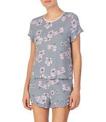women's shady lady short pajamas, size medium - grey