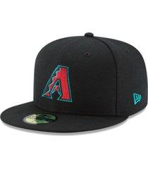 new era arizona diamondbacks authentic collection 59fifty fitted cap