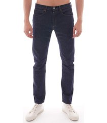 levi's tapered fit jeans lej 502 - rinsed denim 72775-0000