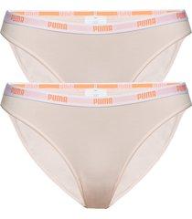 puma iconic bikini 2p trosa brief tanga rosa puma