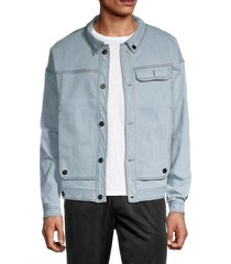 fila men's washington jacket - denim - size xl