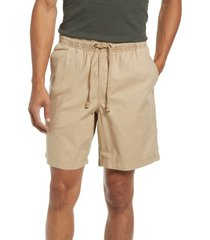 l.l.bean organic cotton twill dock shorts, size xx-large in coastal dune at nordstrom
