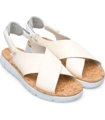 women's camper oruga slingback sandal, size 8us - beige