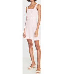 faithfull the brand women's mid summer mini dress - luda floral - m