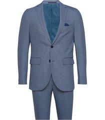 mediteranien blue kostym blå matinique