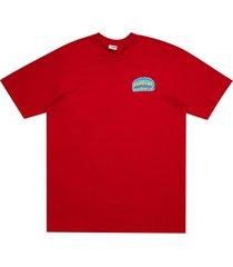 supreme chrome t-shirt - red