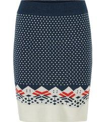 kjol viklara knit skirt