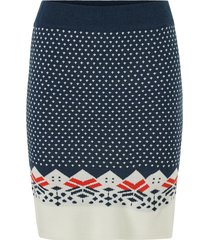 kjol viklara knit skirt