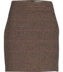 cory short skirt 11284 kort kjol brun samsøe & samsøe
